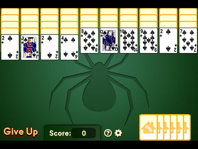 how to play spider solitaire online
