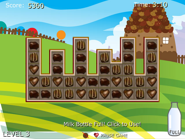 Play chocolate house free online game