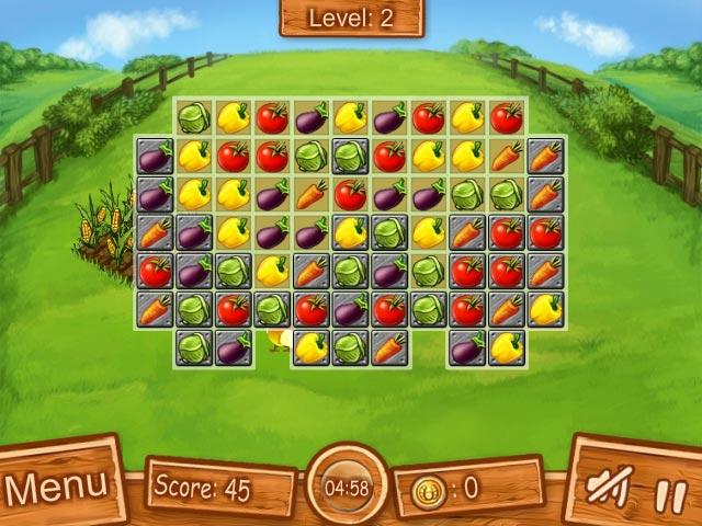 match 3 farm games