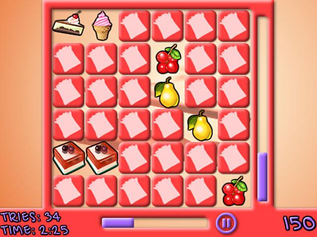 play tasty food memory free online gametasty food memory screenshot 3 tasty food memory screenshot 2