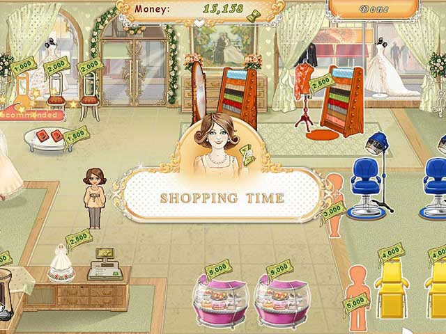 play free online wedding games